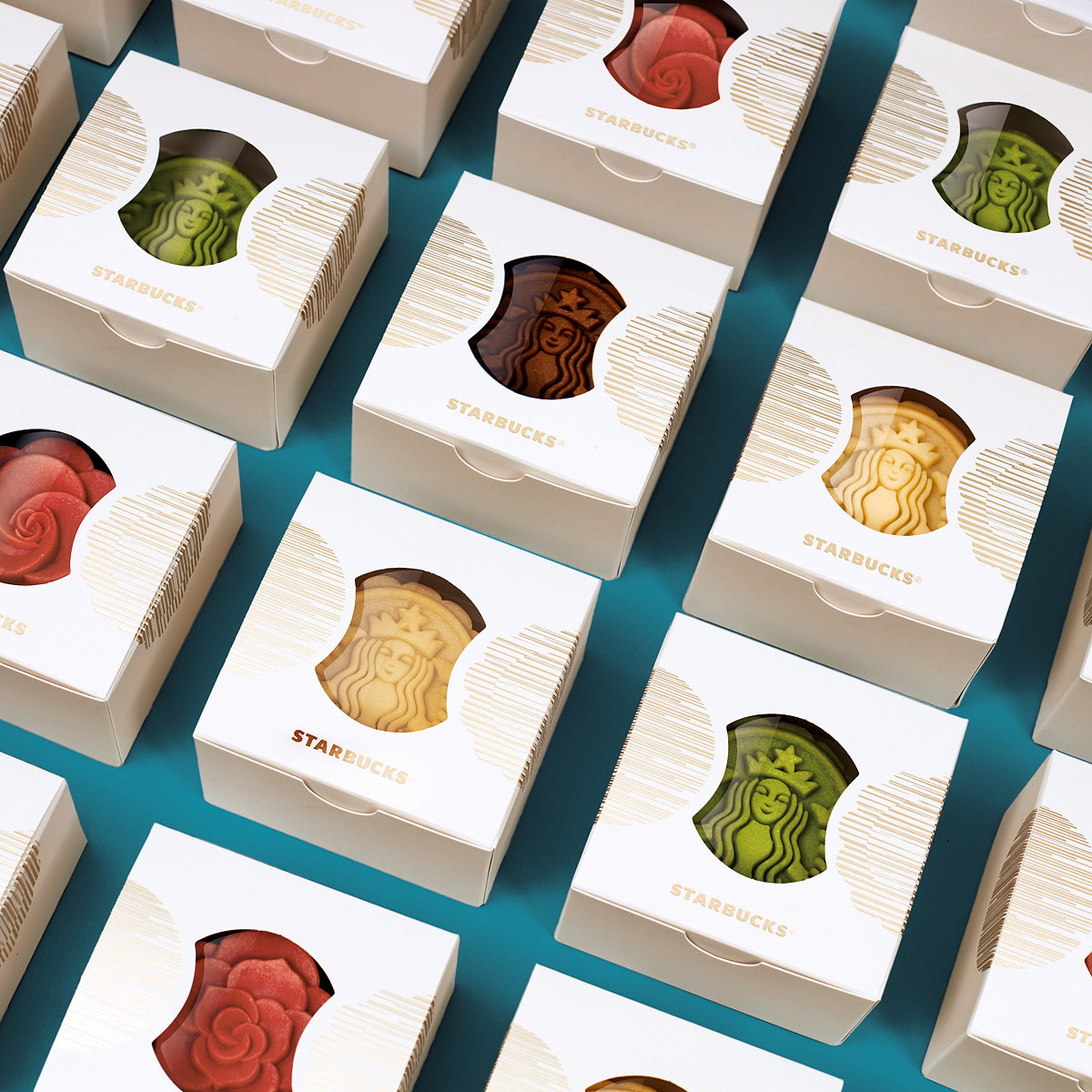 Design Bridge Shanghai Creates Disruptive For Starbucks Mooncakes Dilznoofus39s Tessellation Book