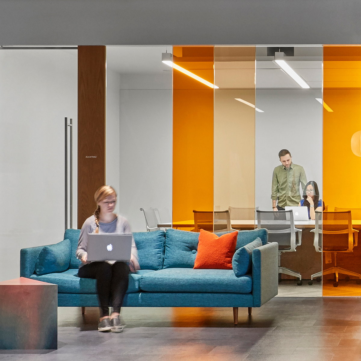 Studio O+A Designs Cisco Meraki's Second Floor Expansion