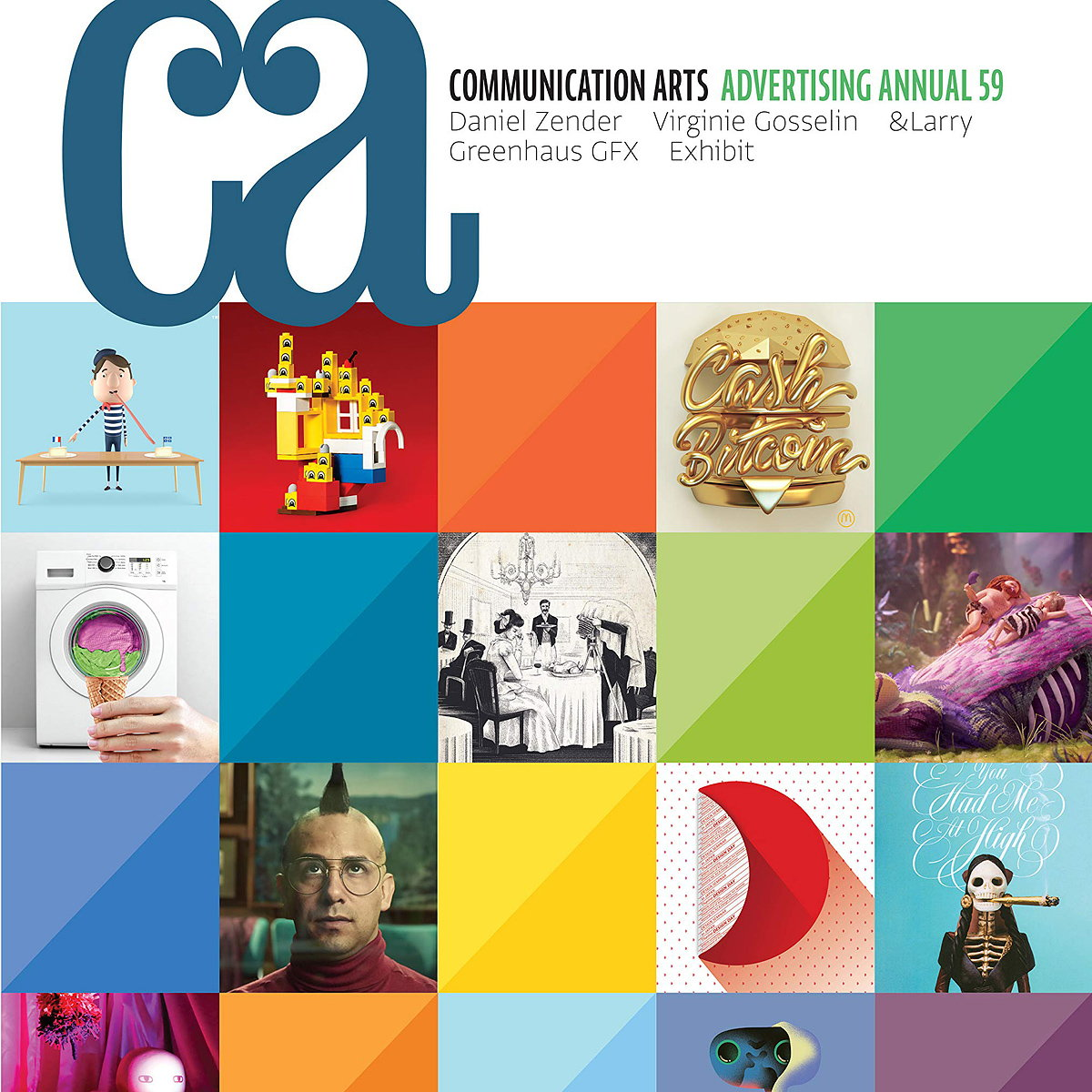 Communication Arts Publishes Advertising Annual 59