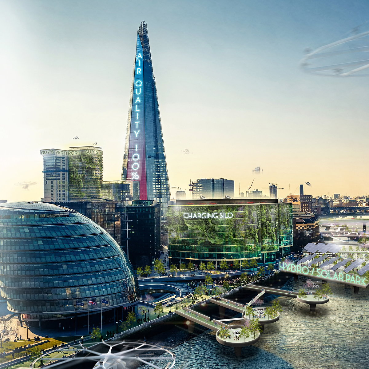 Jaguar and London's Leading Architects Present 'Electrified Urban Vision for the Future'