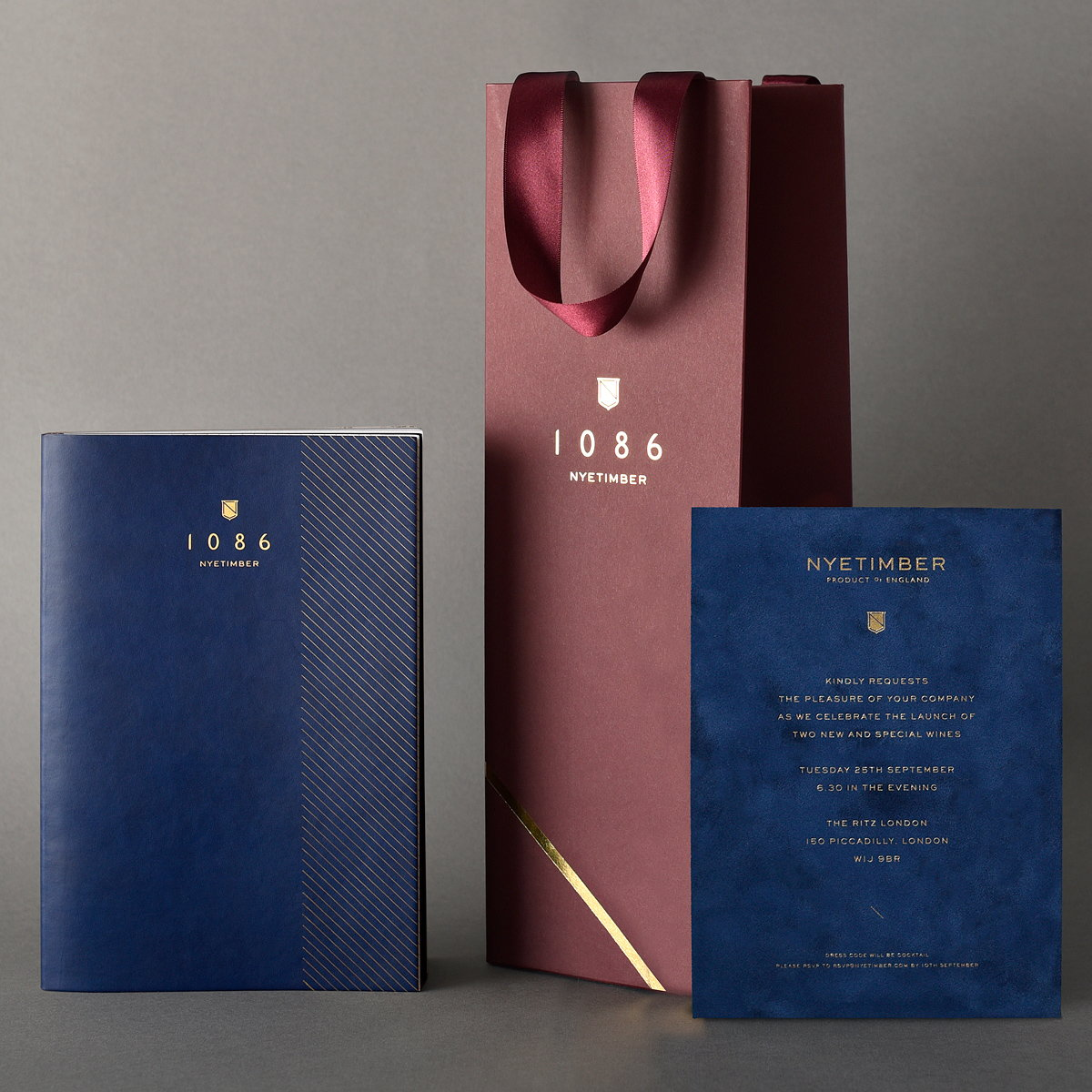 Deep Creates Launch Campaign for 1086 by Nyetimber