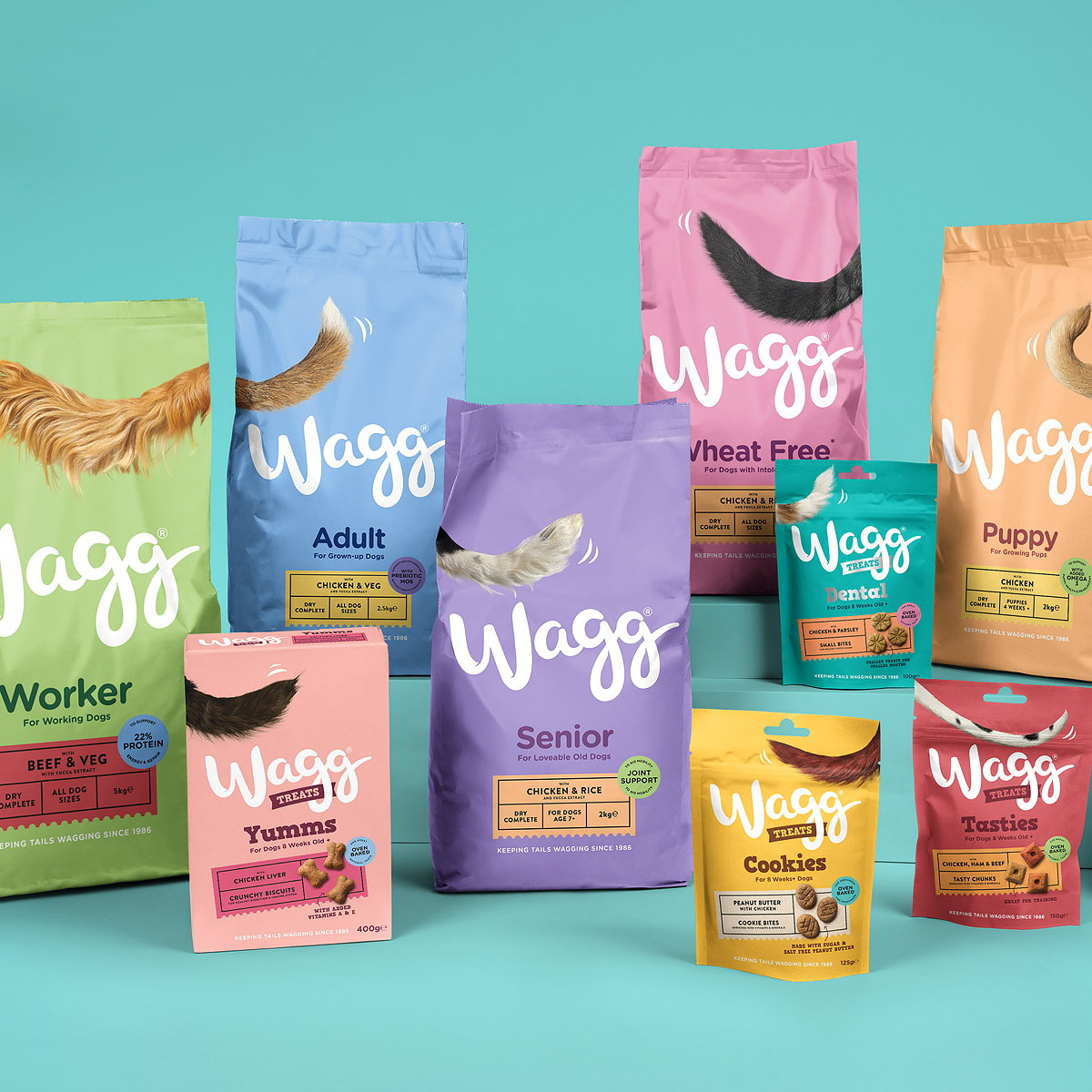 Robot Food Brings Wagg Pet Food Back to Life with Rebrand