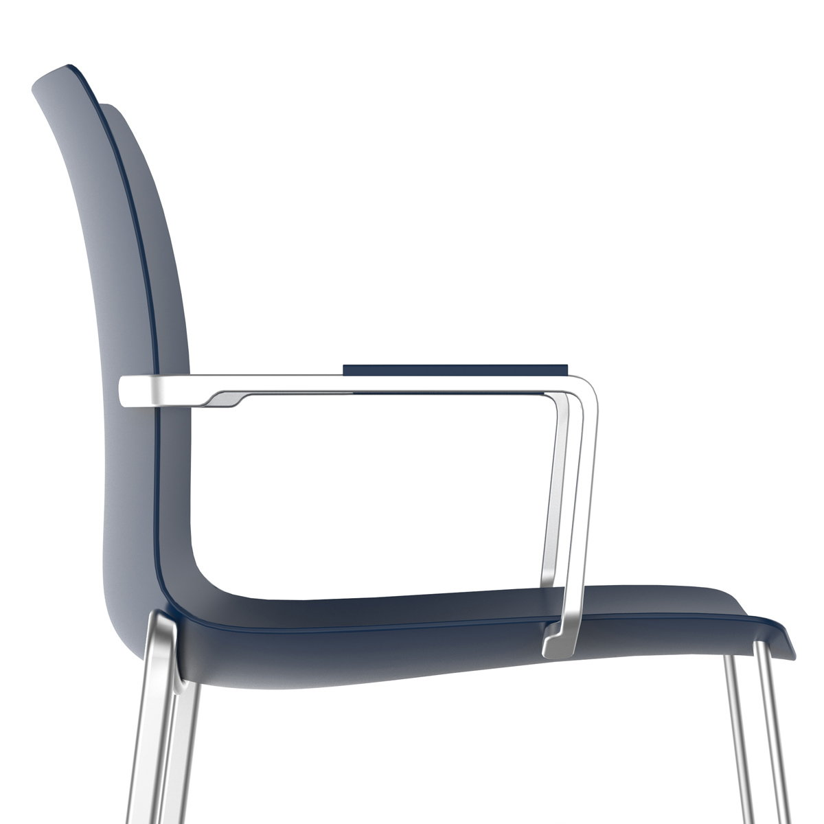 Carl Gustav Magnusson Designs Zinc Chair for Allseating