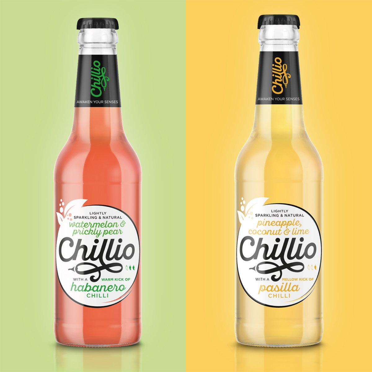 Slice Designs Branding and Packaging for Chillio