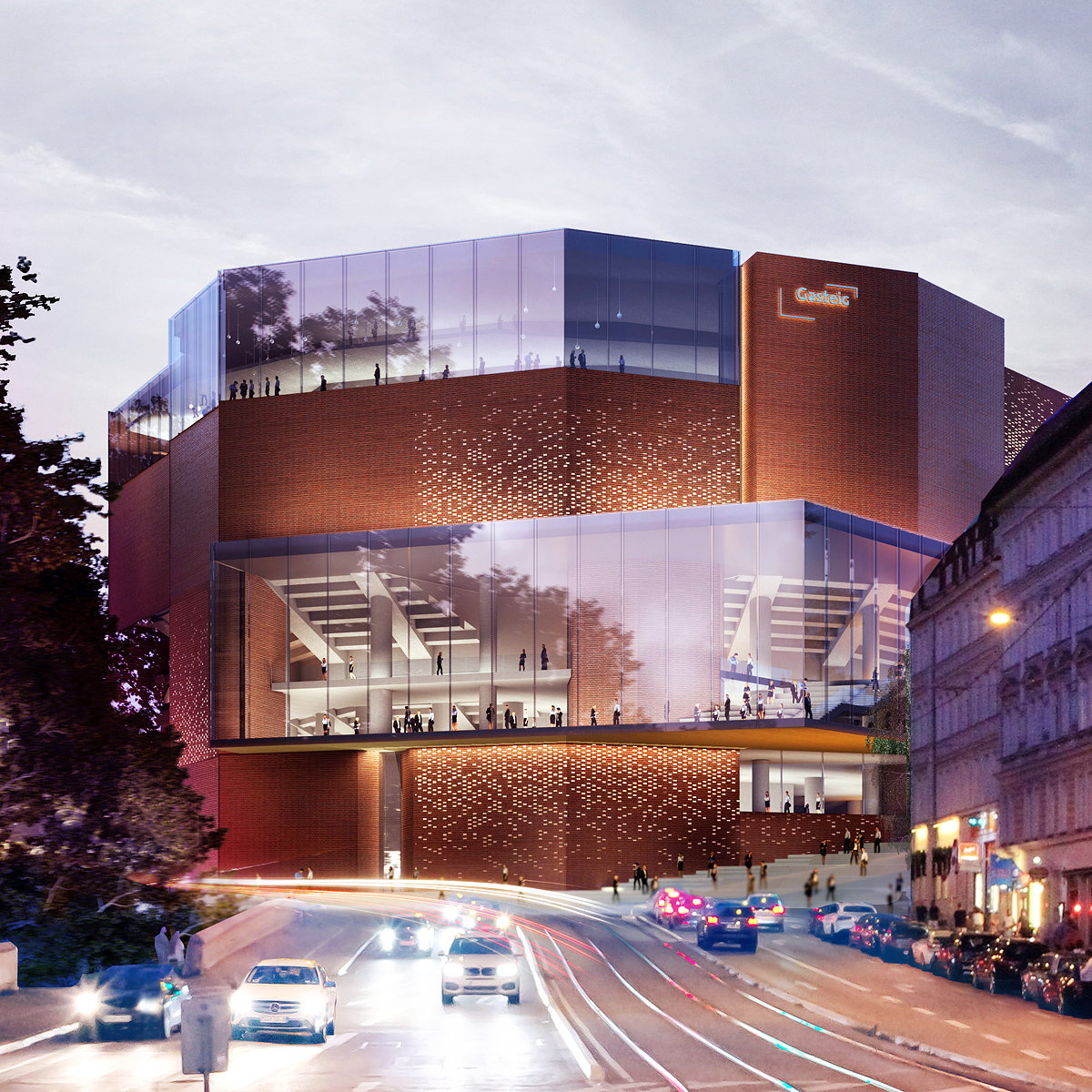 HENN Design Selected for Gasteig Munich