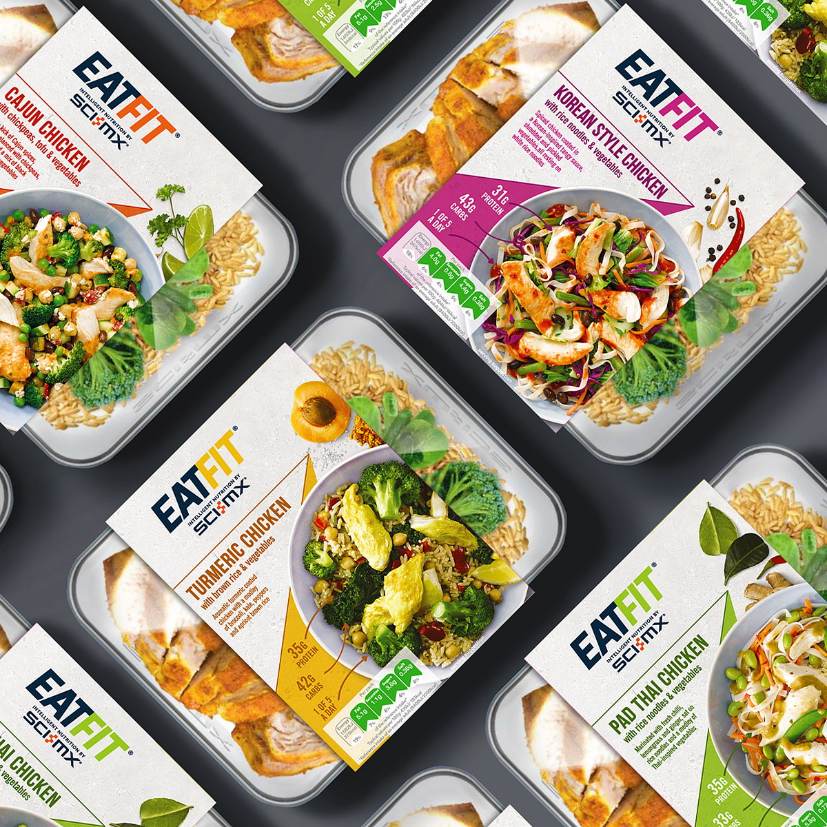 Brandon Designs Innovative Identity for New Fitness-focused Ready-meal Range