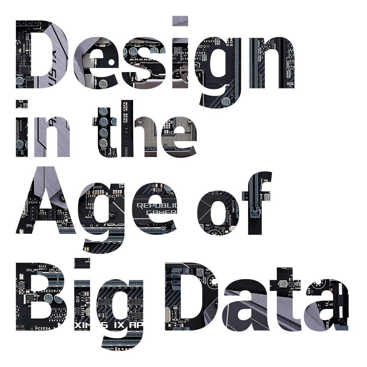 Design in the Age of Big Data at Red Dot Design Museum