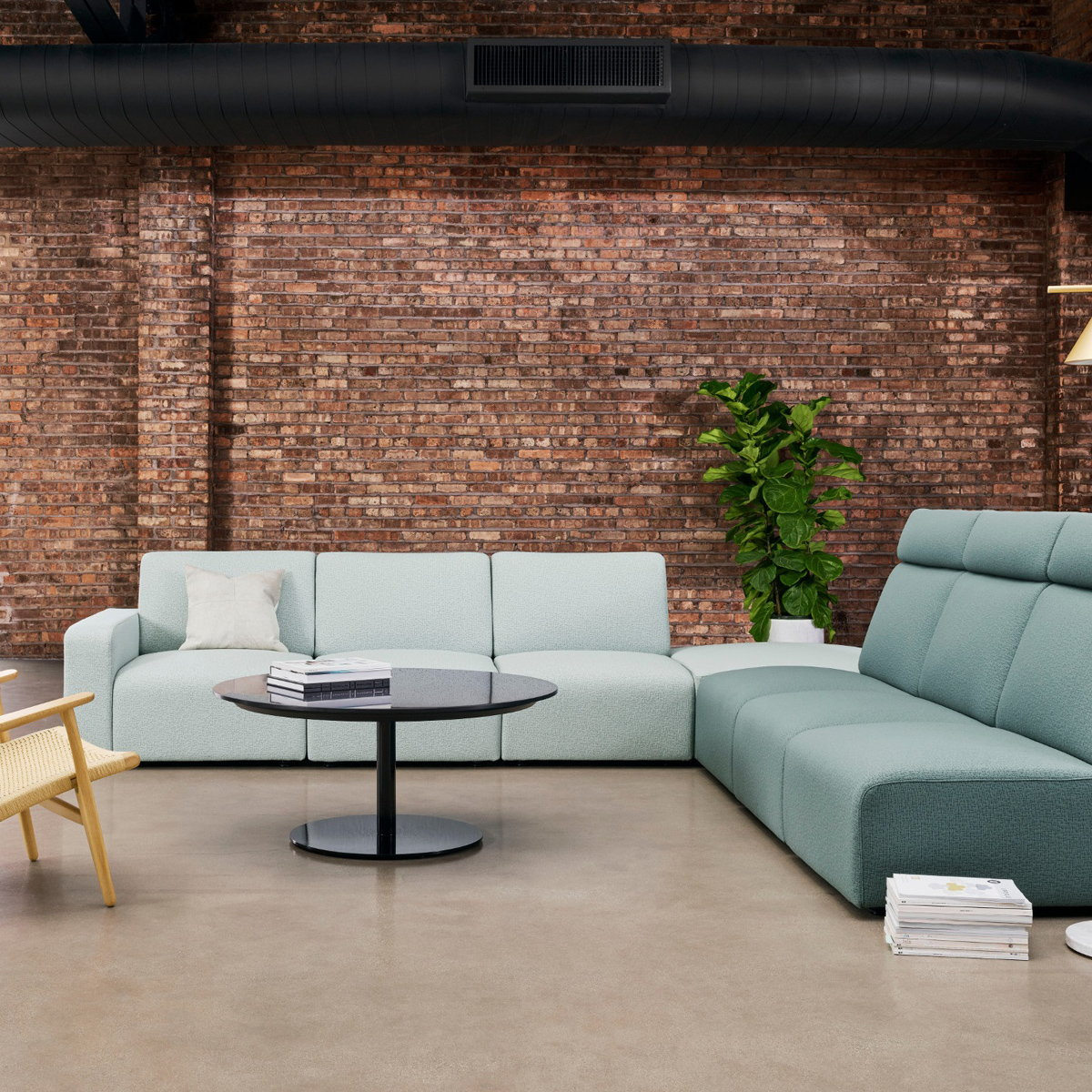 Coalesse Launches Sistema Lounge System