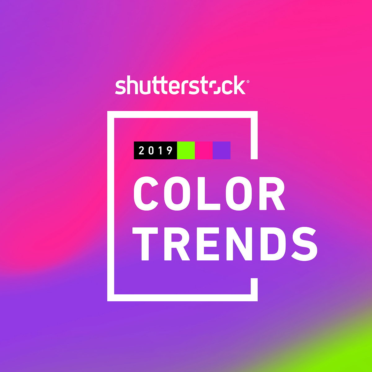 Shutterstock S 2019 Color Trends Report Reveals Pink Green And