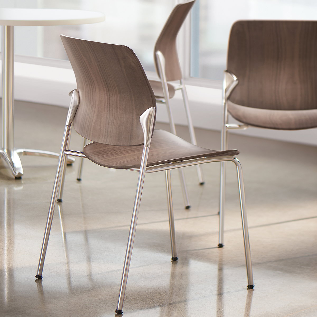 Allseating Adds New Wood Offerings to the Astute Collection