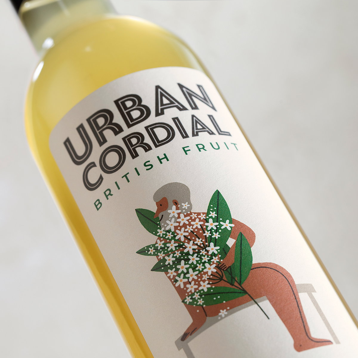 Jackdaw Design Delivers Brand Identity with Unique Fruity Twist for Urban Cordial