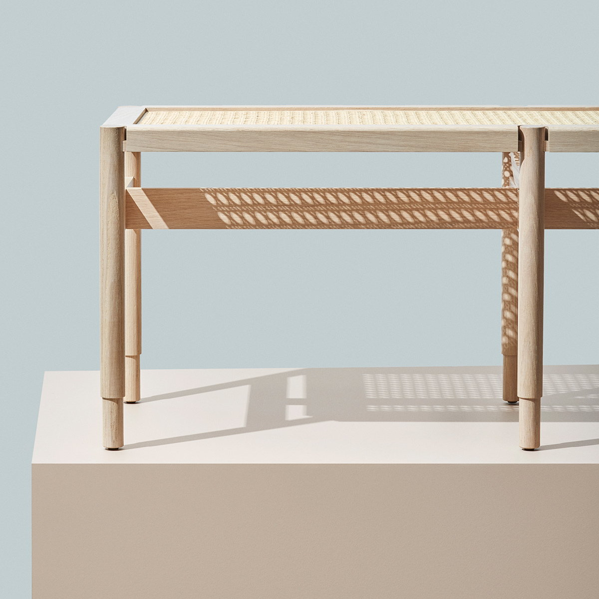 Winston Bench by Eva Harlou for Mater