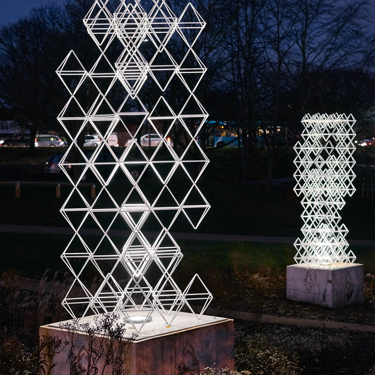 Seven Sisters by Lazerian for Winsford Town Park