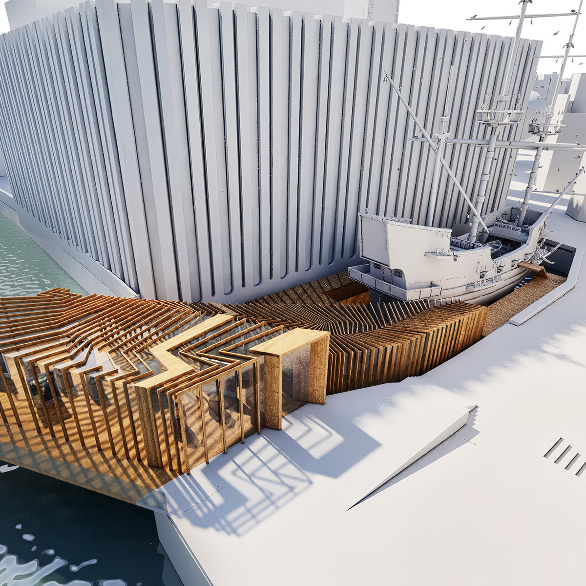 SPPARC Unveils Design for New Museum and Visitor Centre for the Golden Hinde