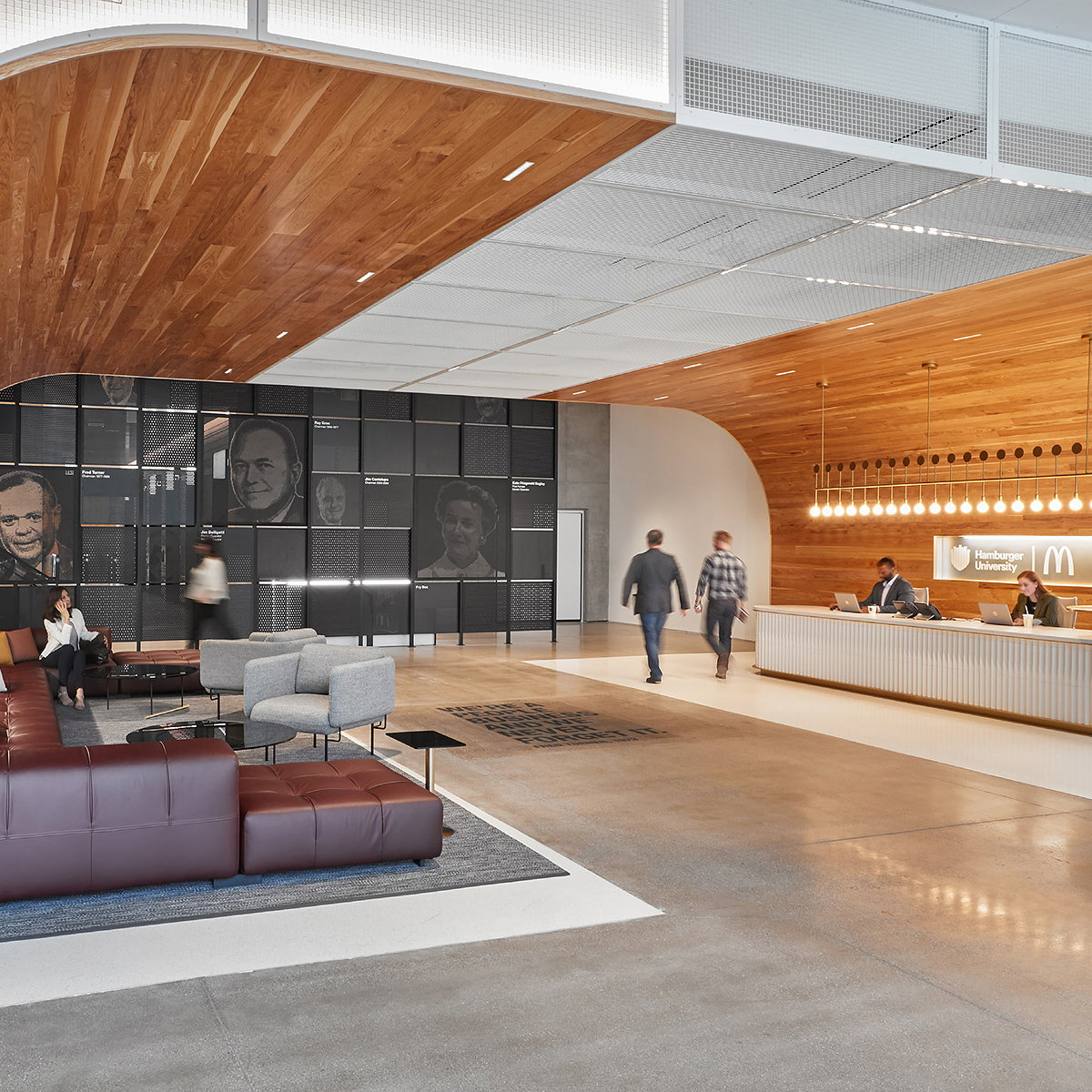 Studio O+A and IA Interior Architects Design McDonald's New HQ in Chicago's West Loop