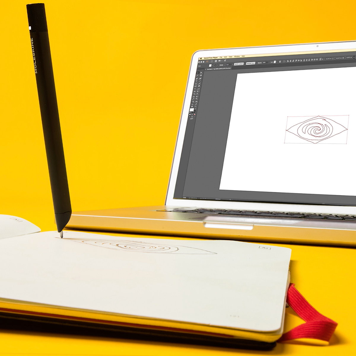Adobe and Moleskine Launch Creative Cloud Connected Paper Tablet