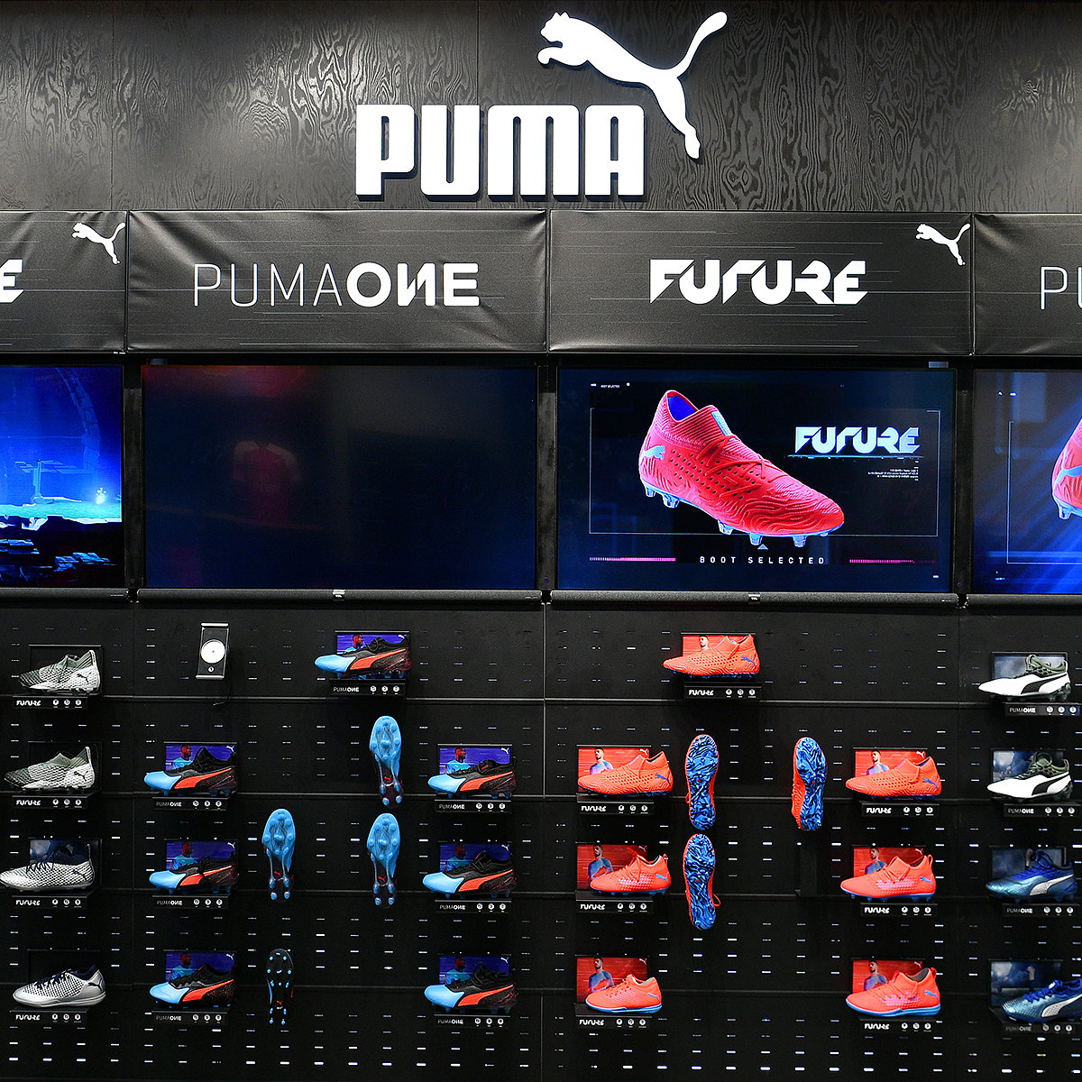 Green Room Designs Innovative Digital Retail Experience for PUMA