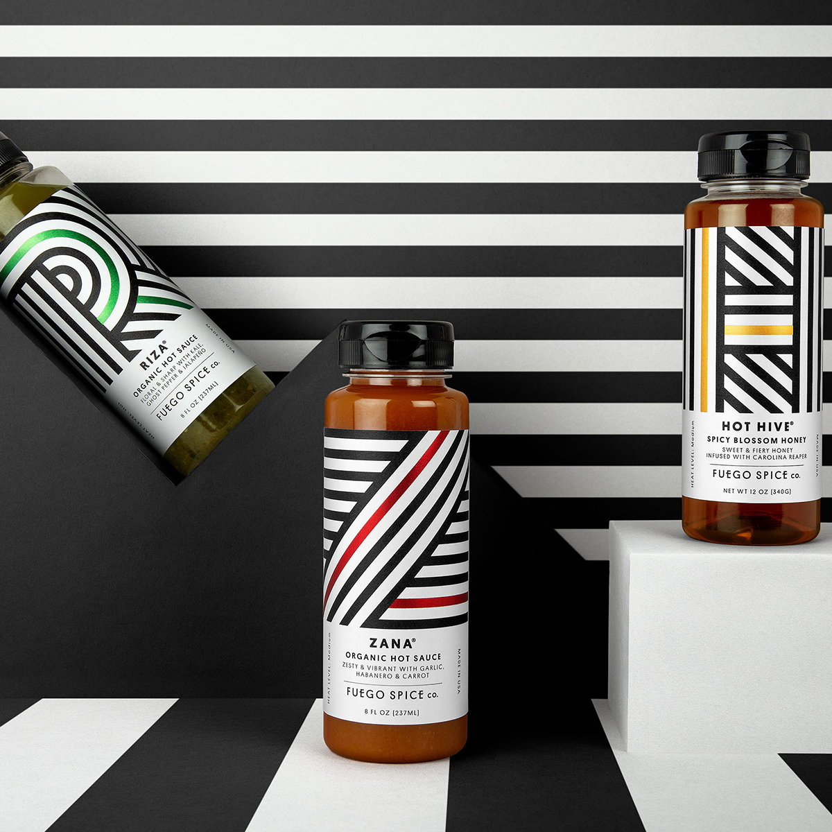 Robot Food Gives Fuego Spice Co. a Suitably Sizzling Rebrand