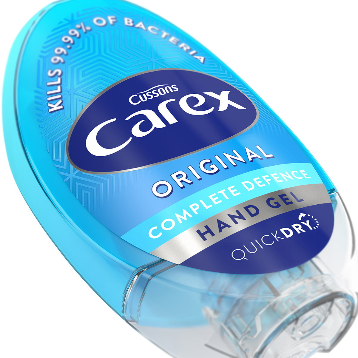 Carex Relaunches Its Antibacterial Hand-gel Range with Iconic Design by PB Creative