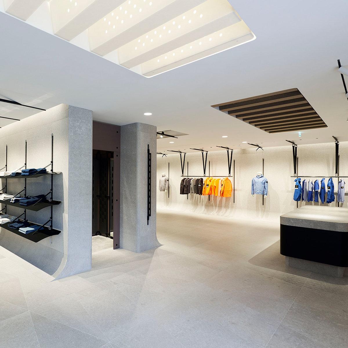 ae78f360d1c Stone Island Unveils New Milano Location