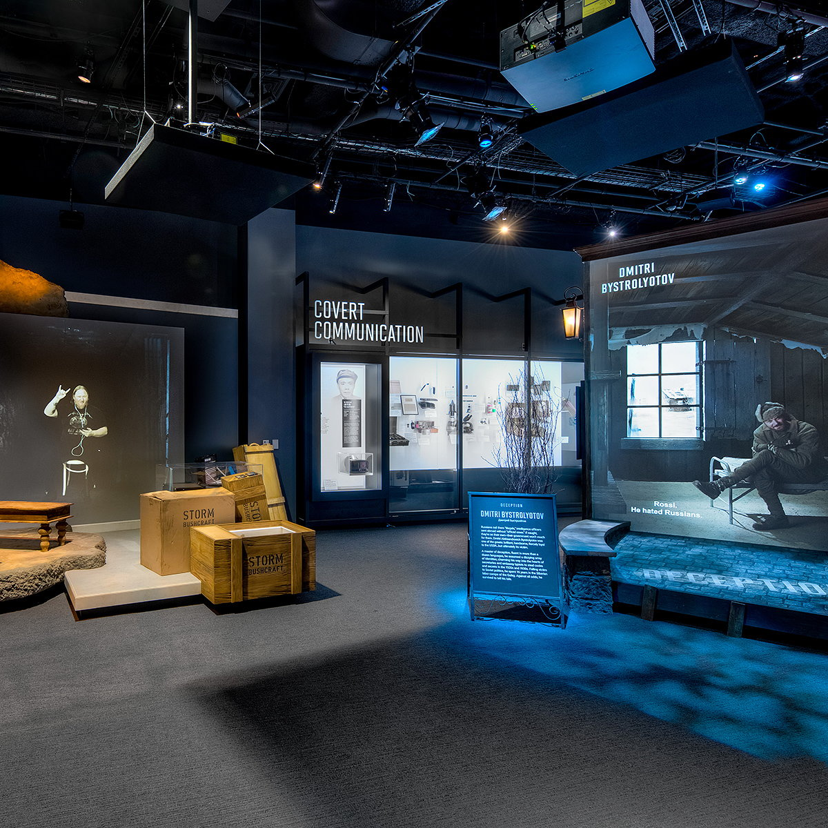 Gallagher and Associates Designs Interactive Exhibitions for New International Spy Museum