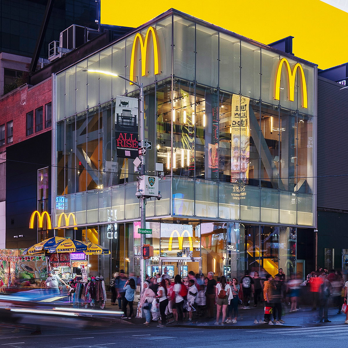 McDonald's Flagship Times Square Designed by Landini Associates