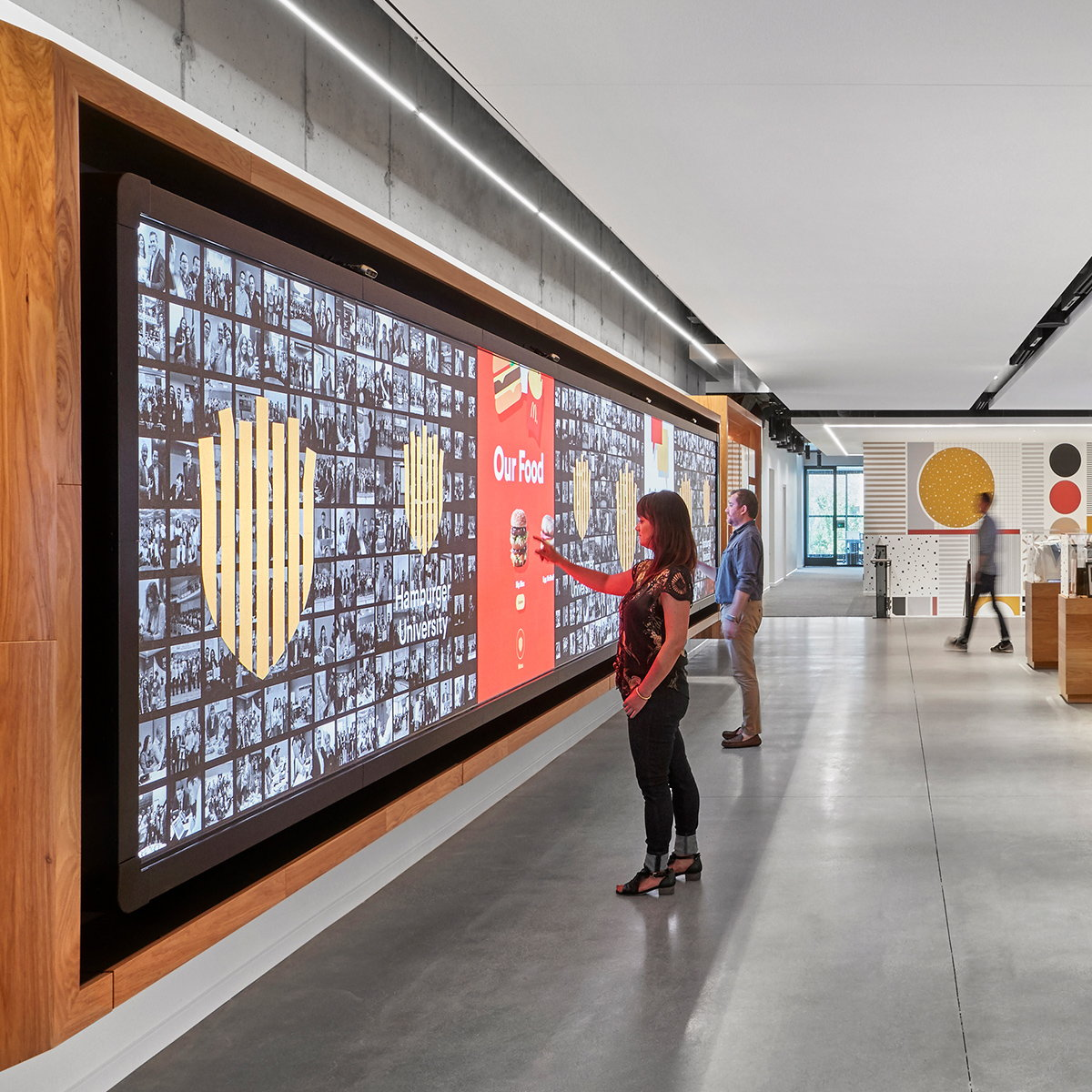 Leviathan Creates Interactive Installations for McDonald's Global Headquarters