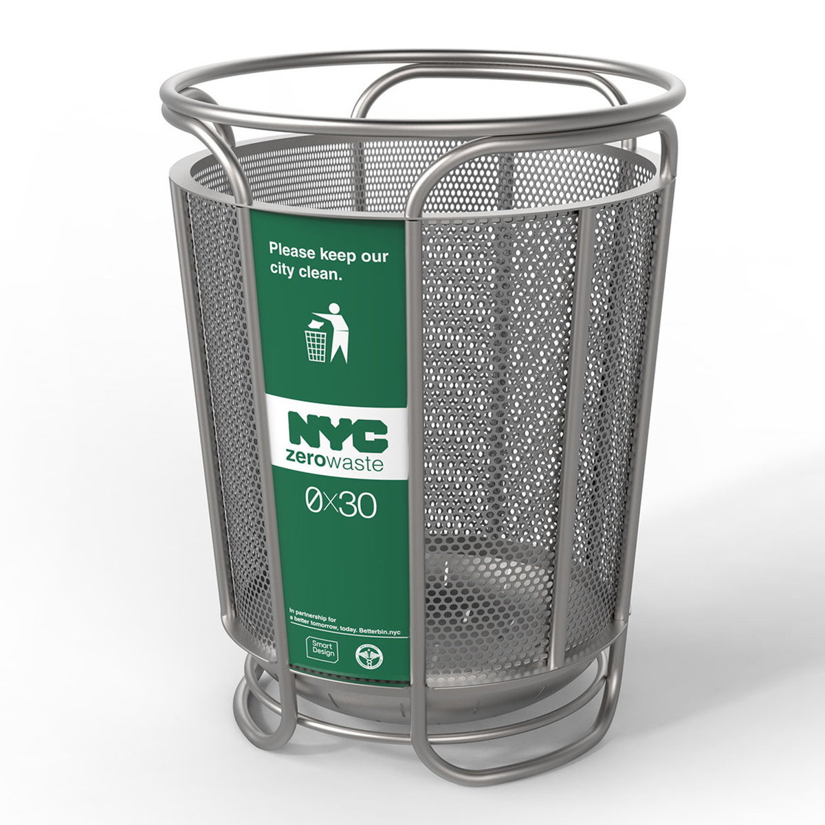 Redesigned Litter Baskets Set for Trial on NYC Streets