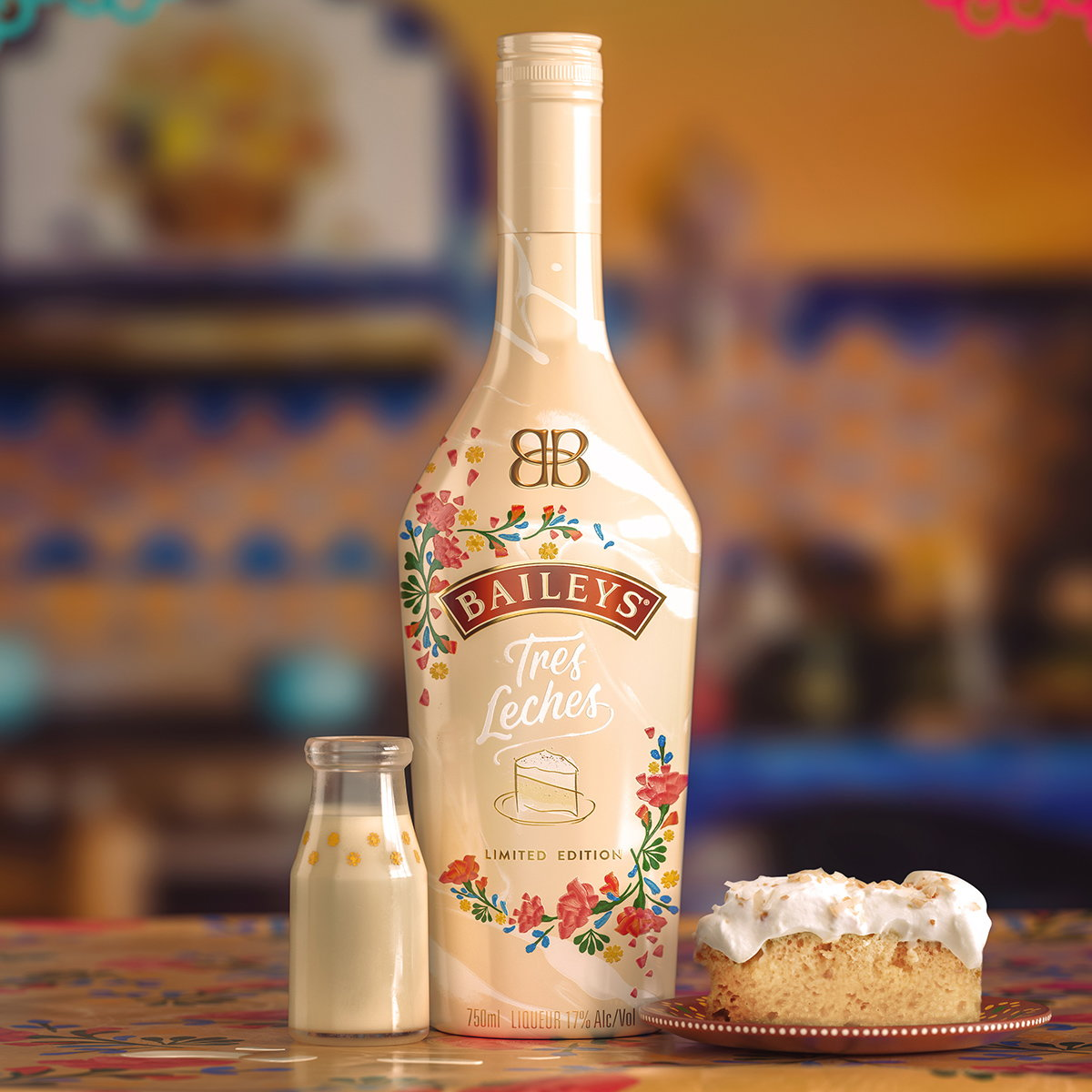 Vault49 Designs Latin American Inspired Packaging for Baileys Tres Leches