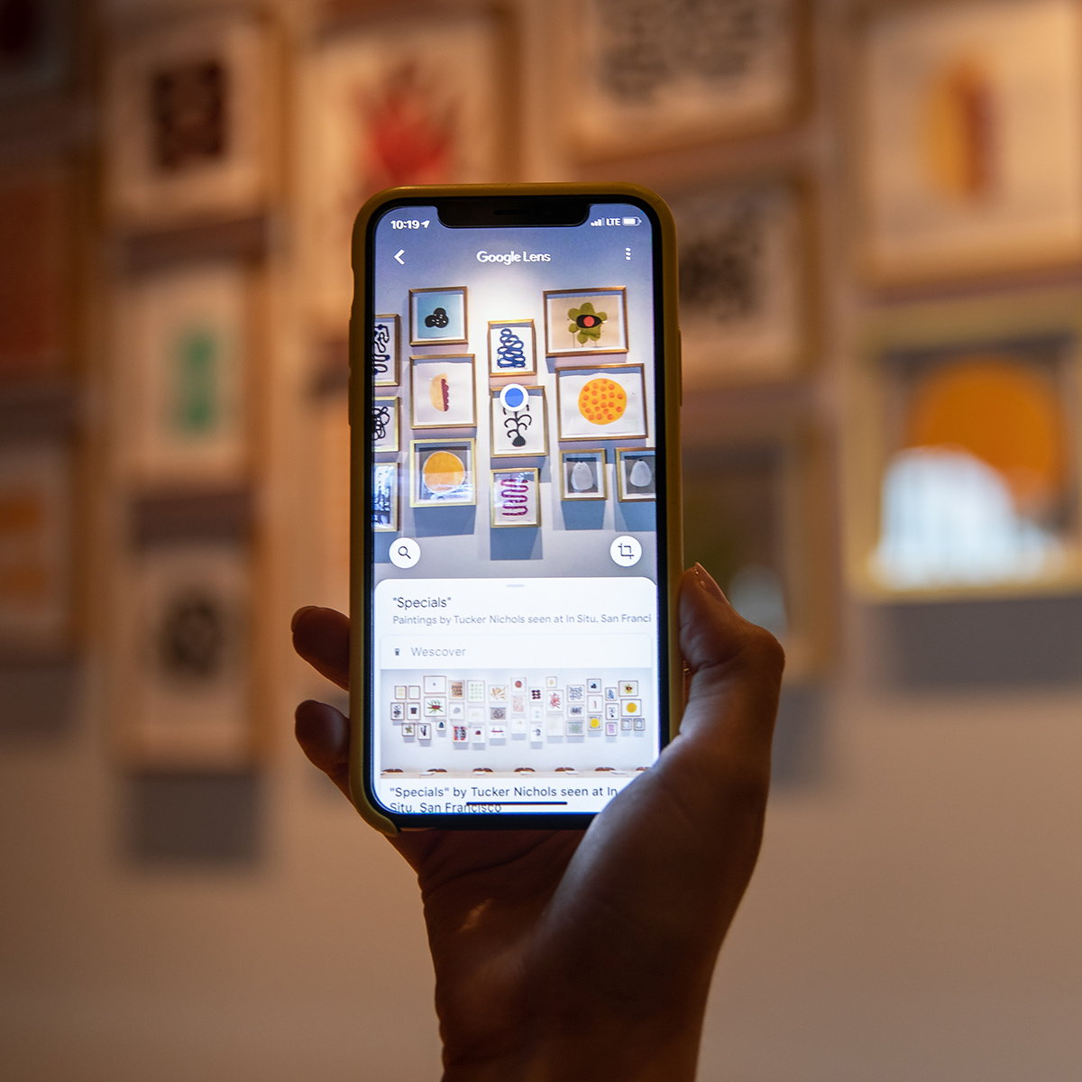 Google Lens and Wescover Let Users Explore Art Outside Museums