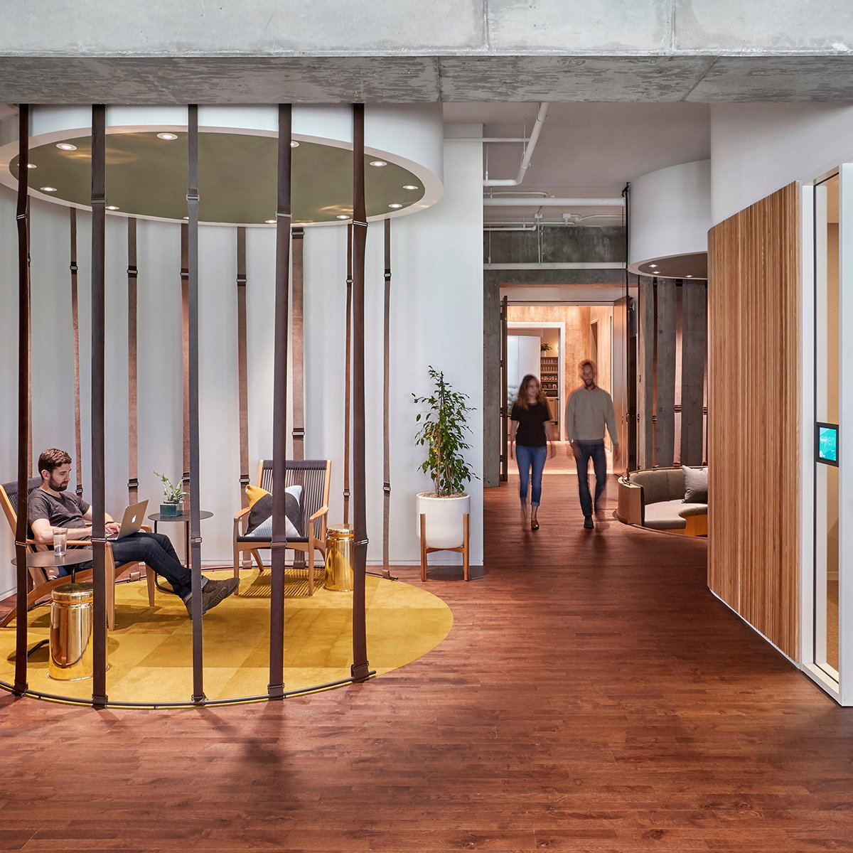 Studio O+A Designs Slack Headquarters