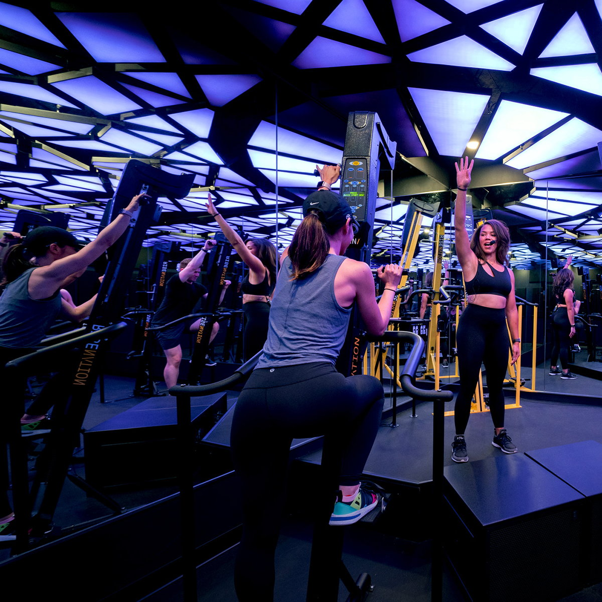 Cactus Spurs Fitness Motivation with Immersive Lighting Installation for Rise Nation