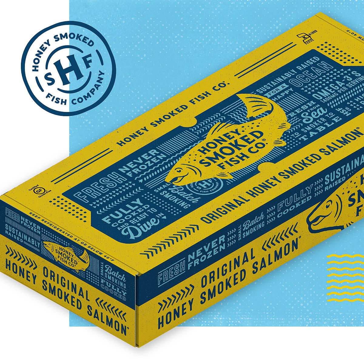 LRXD Redesigns Honey Smoked Fish Co. Packaging
