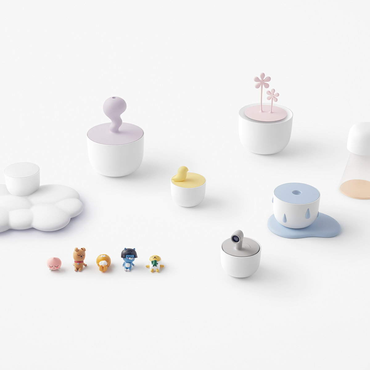 nendo Designs IoT Home Appliances for Kakao