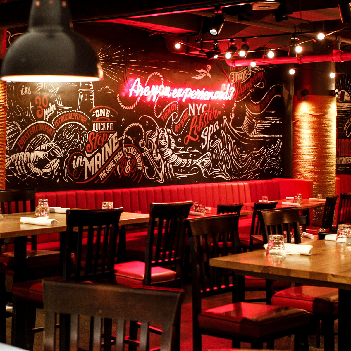 Vault49 Creates Murals for Burger and Lobster in New York's Flatiron District