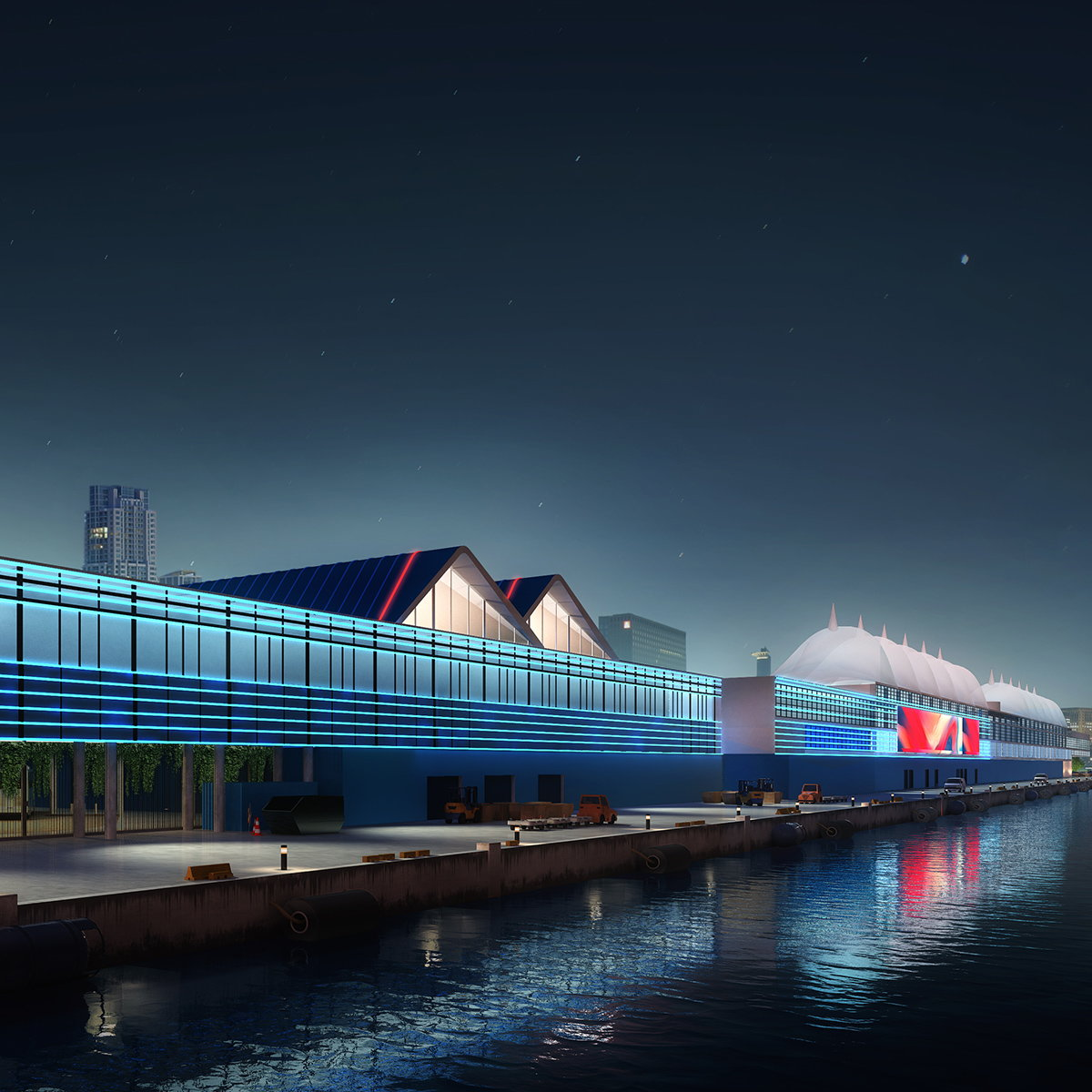 Berenblum Busch Architects Designs Major Expansion of Carnival's Terminal F at PortMiami