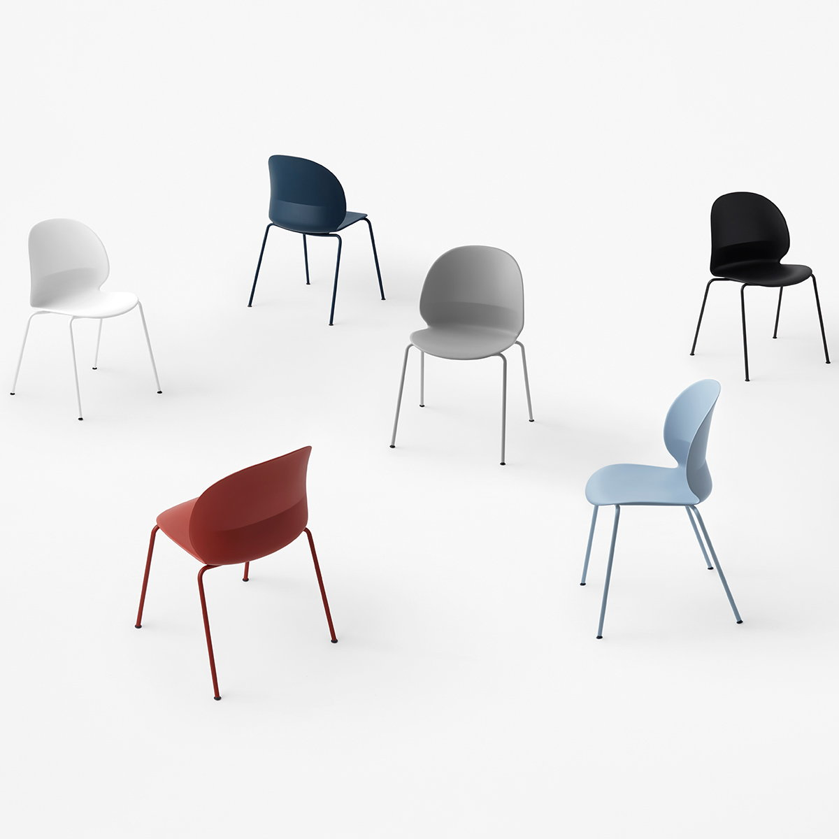 Fritz Hansen Launches N02 Recycle, Designed by nendo