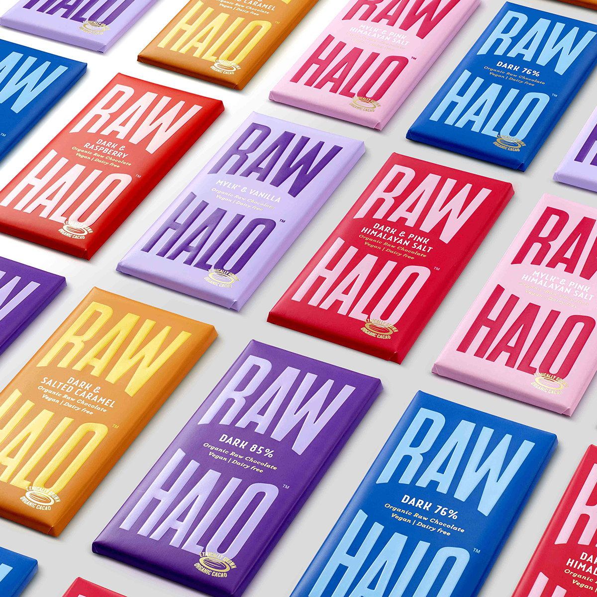 B&B Studio Designs New Brand Identity for Raw Halo