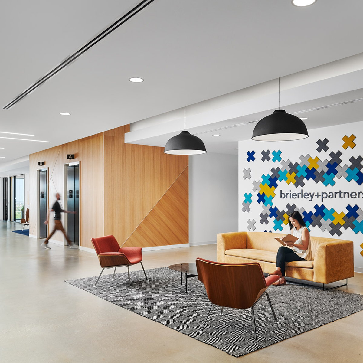 Perkins and Will Designs New Office for Brierley+Partners