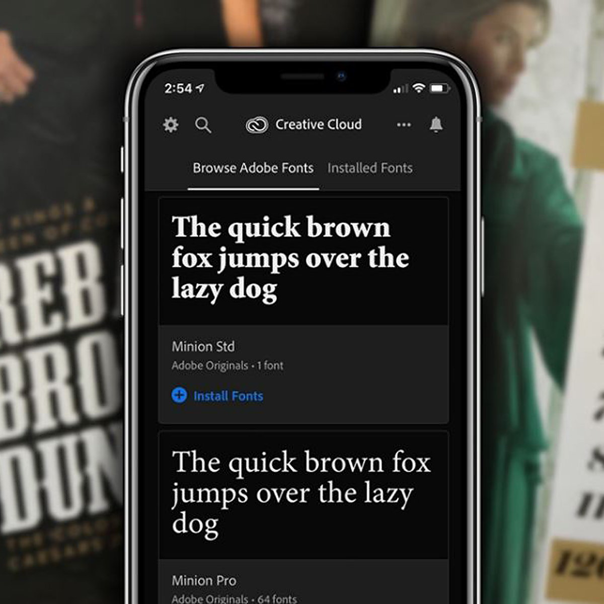 Adobe Brings Fonts to iOS with Creative Cloud Mobile App