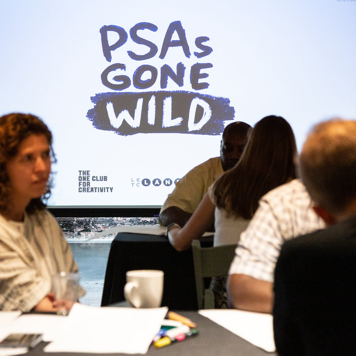 The One Club Hosts Neurodiversity Creative Workshop 'PSAs Gone Wild'