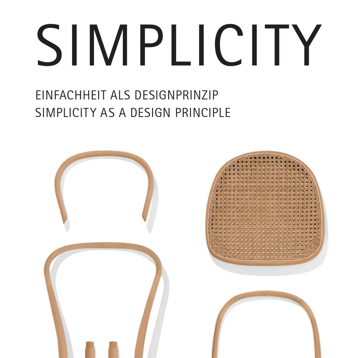 Simplicity as a Design Principle Exhibition at Red Dot Design Museum