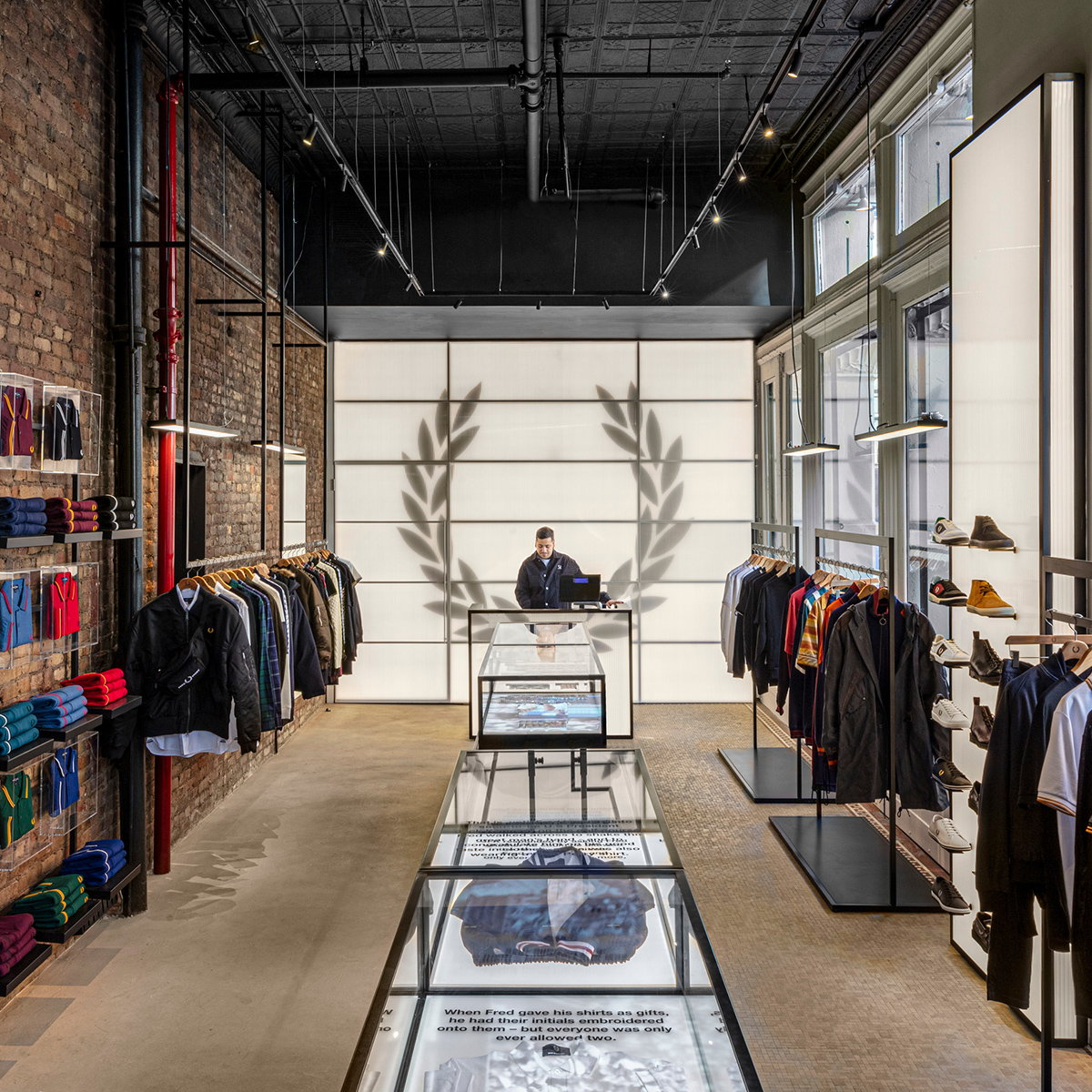 BuckleyGrayYeoman Completes Fred Perry's New York City Flagship Store