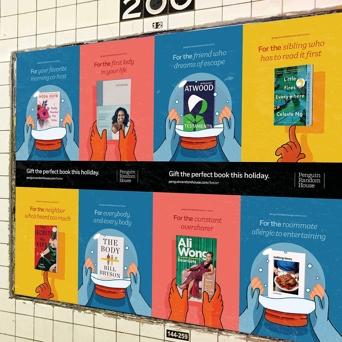 Penguin Random House and Anyways Creative Promote the Joy of Reading with New Holiday Campaign