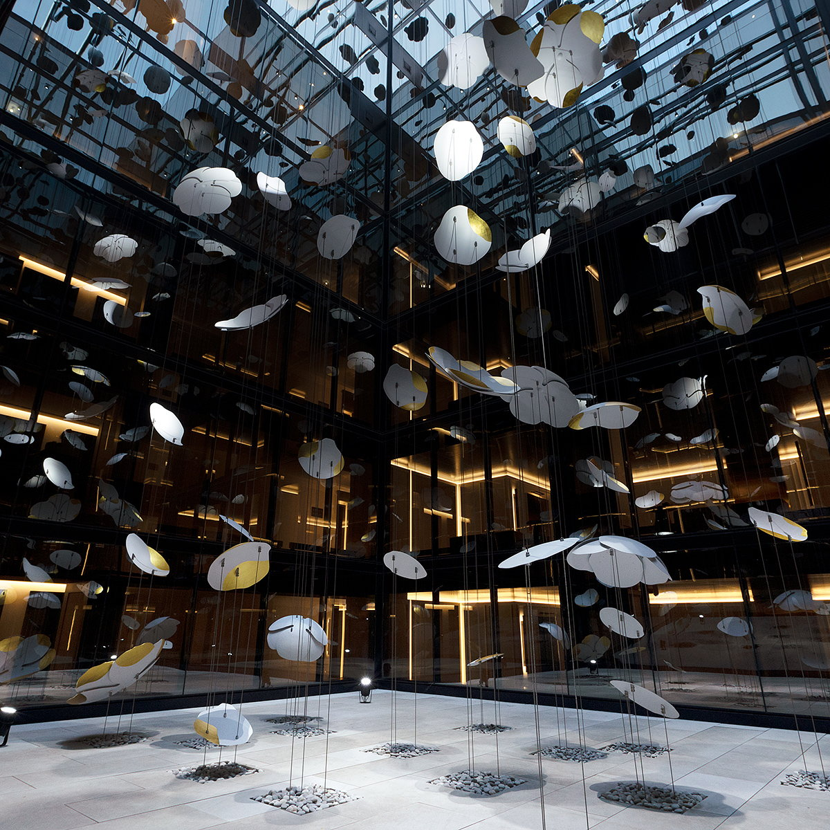 Pascale Girardin Creates 'Contemplation' for Four Seasons Hotel Montreal
