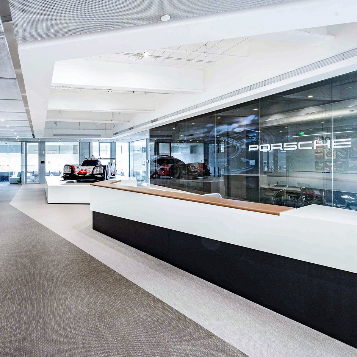 anySCALE Completes Porsche China's New Headquarters