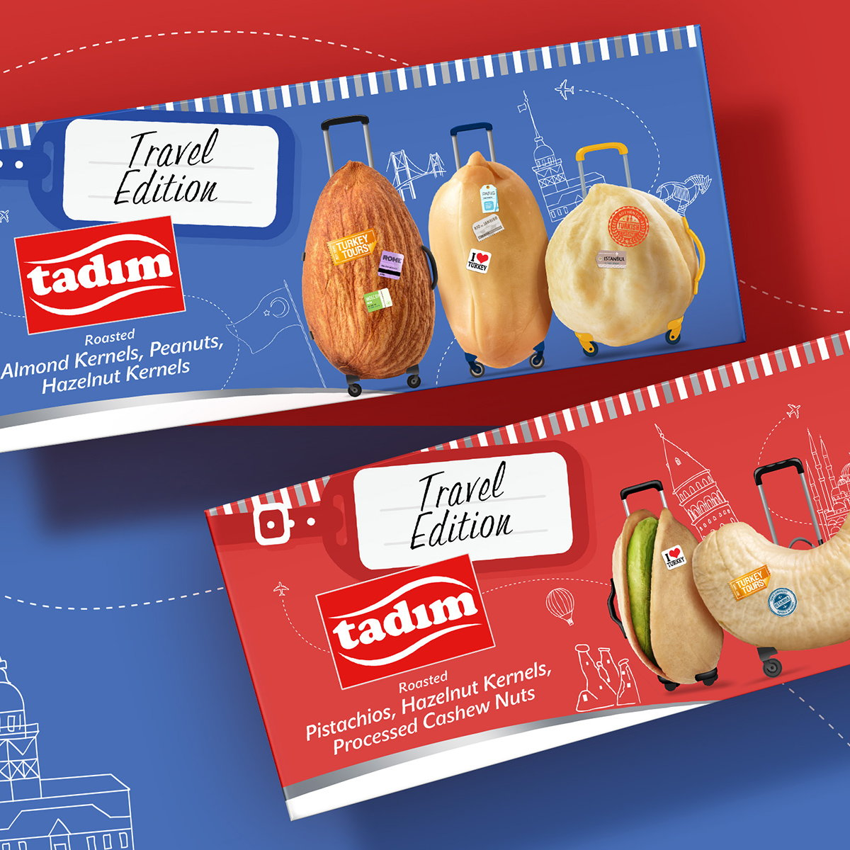Orhan Irmak Designs Travel Edition Packaging for Tadim