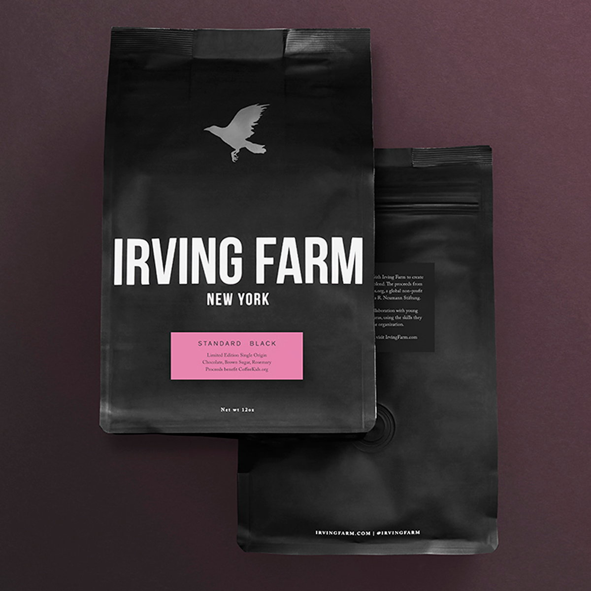 Standard Black and Irving Farm Coffee Create Limited Blend to Benefit Charity