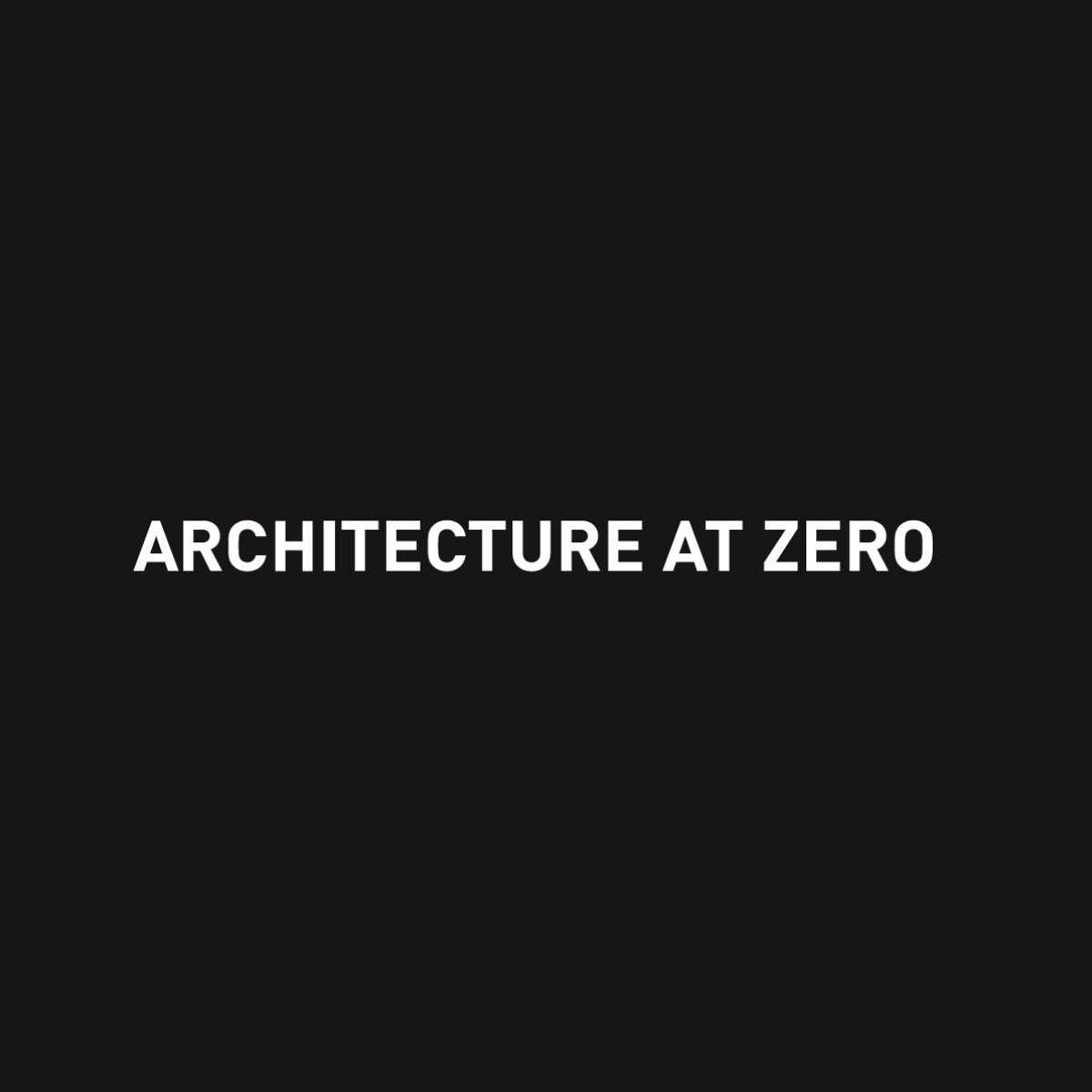 AIA CA Launches 2020 Architecture at Zero Competition