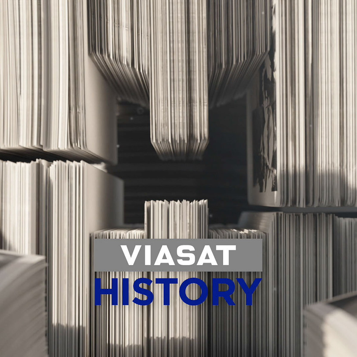 Found Studio Designs New 3D Idents for Viasat History